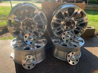 F150 Platinum factory rims