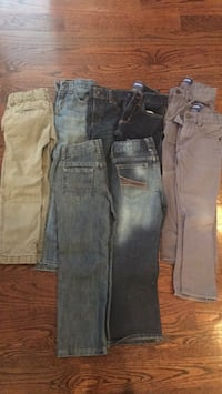 8 pair of kids Size 6/7 pants Watkinsville, 30677