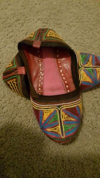 Womens flats, traditional Indian juti shoes Tampa