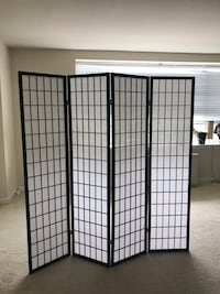 Two 4-panel Shoji room dividers Arlington, 22204