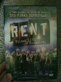 RENT broadway show dvd new Burke, 22015