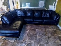"Italian Leather Sectional ""Couch"" with Tv stand Jacksonville, 32256"