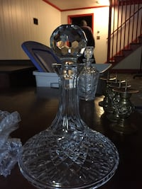 Waterford signed decanter crystal Damascus, 20872