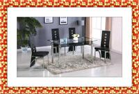 Black Marble Table with 4 Chairs Brand New Elkridge, 21075