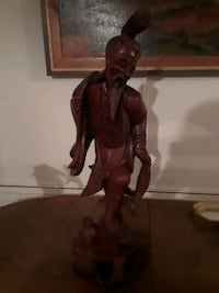Asian wooden statue. 3 ft tall  Alto, 30510
