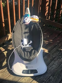 4moms MamaRoo Hightech Bluetooth Baby Swing Rocker Washington, 20020