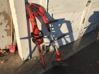 HEDGE CLIPPERS AND WEED WHACKER, GOOD CONDITION ,