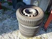Continental all year tyres.              175/65r  Fjell, 5353