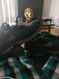 Nike Air Max's all black size 10.5 Lancaster, 93534