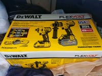 Dewalt DCK299D1T1. Brushless Hammerdrill Combo. Union