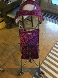 Purple and black lightweight stroller Mississauga, L5A 3X1