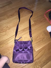 Purple coach sling bag Surrey, V4N 2X3
