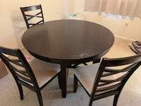 Round Dining Table for 4