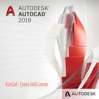AutoDesk - AutoCAD 2019 [PC/MAC] 3 Years License - Software Toronto