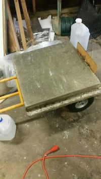 """2 cement stepping stones. 24""""×24""""×2"""" square  North Canton, 44720"""