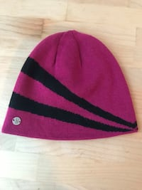 Pink and Black Spyder Knit Beanie Columbia, 65201