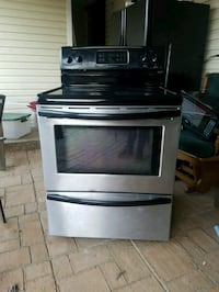 stainless steel and black induction range oven Knoxville, 37917