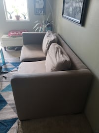 Sofa bed. Very comfortable, must go. 300 OBO, made an offer. EVERETT