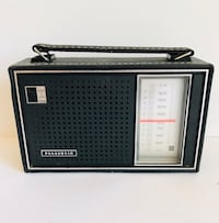 VINTAGE PANASONIC AM TRANSISTOR RADIO MODEL R-1449