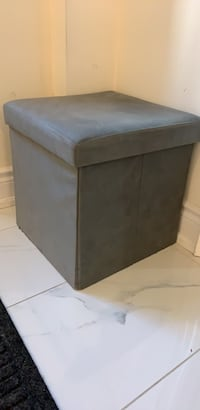 Grey ottoman with storage  Brampton, L6X 0X7