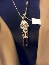 This is Skinny Bones by Betsey J. & 18k chain Ladson, 29456