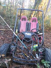 two black and red dune buggy Mobile, 36608