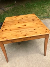 Wooden table. Cross posted.  Woodbridge, 22193