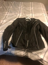 Woman's Motorcycle jacket.