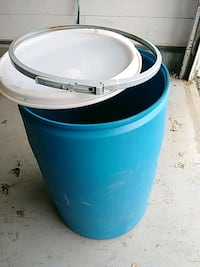 Plastic Drum / Barrel Food Grade. Knob Noster, 65336