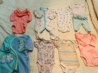 Box of Baby girl clothes newborn to 3 months Calgary, T2X 3B7