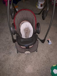 Baby's black and gray portable swing. Moving on the 15th need gone asap Woodbridge, 22192