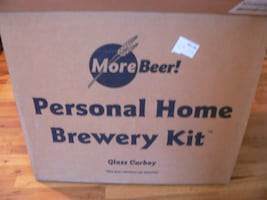 MoreBeer! Home Brewery Kit 4 w/ Extras - Microbrew Brew at home