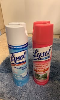 Lysol disinfectant spray lot