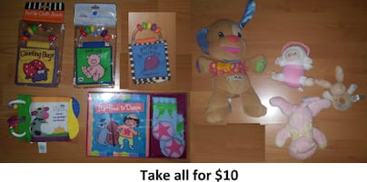 Baby Toys - Lot 1 ($10)