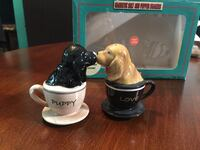 """Puppy  Love"" salt & pepper shakers  West Covina, 91791"