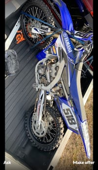 2016 yz250f clean vin# JYACG [TL_HIDDEN]  serious inquires only 50$ deposit for delivery you can put the deposit down thru cash app or paypal