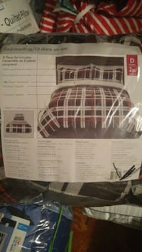 Brand new 8 pcs bed in bag double size. Toronto, M1B 5S3
