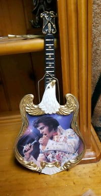 Elvis collecters plate # 523.