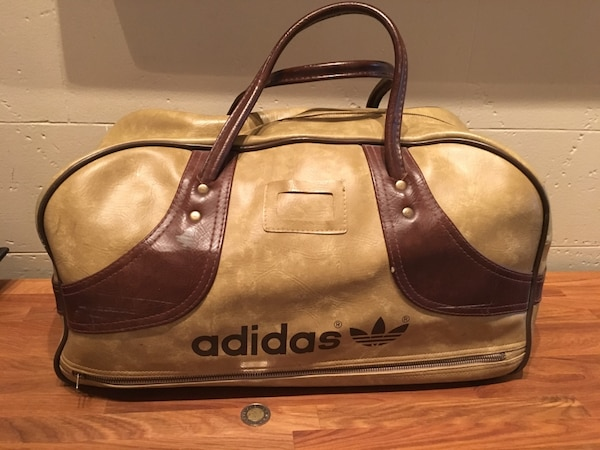 f4458d0a2a Used Vintage Adidas Gym Bag(very good condition) for sale in Lachine - letgo