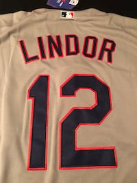 New with tags Cleveland Indians Francisco Lindor jersey size XL Strongsville, 44149