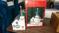 Dickens Collectibles Hand painted church Roanoke, 24018