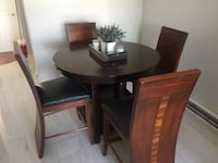 Kitchen table, chairs, and extension Laval, H7M 4C7