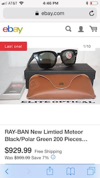 RARE limited edition Raybans Oregon City, 97045