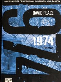 Buch - Thriller - David Peace - 1974 null