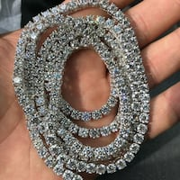 Diamond necklace.   Paris, 75007