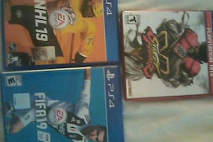 3 PS4 VIDEO GAMES BRAND NEW AND NEVER USED