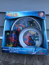 Spiderman cup plate and saucer set never used as young Grand Rapids, 49508
