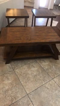 Coffee Table & 2  End  Tables, price Neg North Las Vegas, 89081