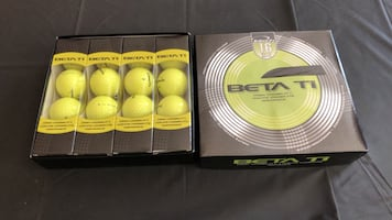 Brand new Beta T1 golf balls Have about 600 to sell $.35 each