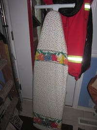 Large Full Size Foldable Ironing Board with 2 Covers